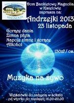 Andrzejki 2013